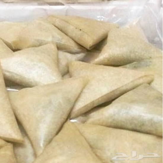 Fried chicken samosa box, ready for frying or oven, consists of 10 pieces