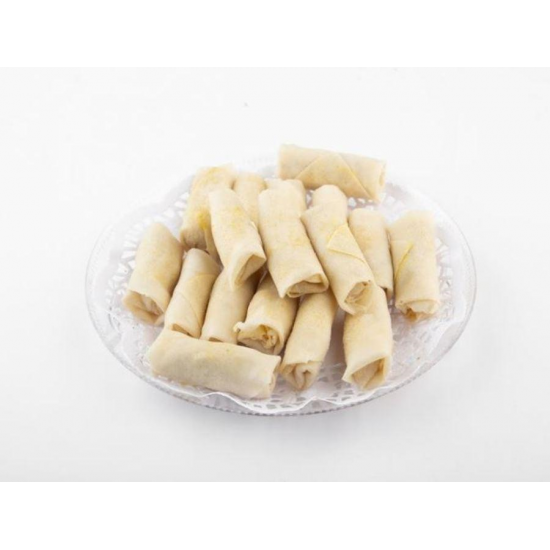 Sponge Roll box of 10 pieces of freshly prepared vegetables for frying and oven